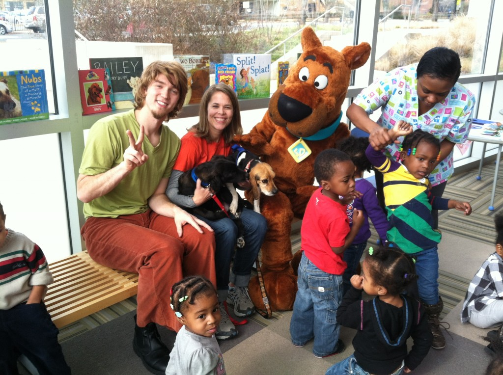 Scooby Doo Book Reading Event